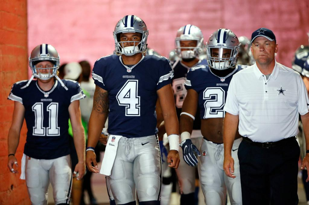 QB Dak Prescott Already Embracing Leadership Role?