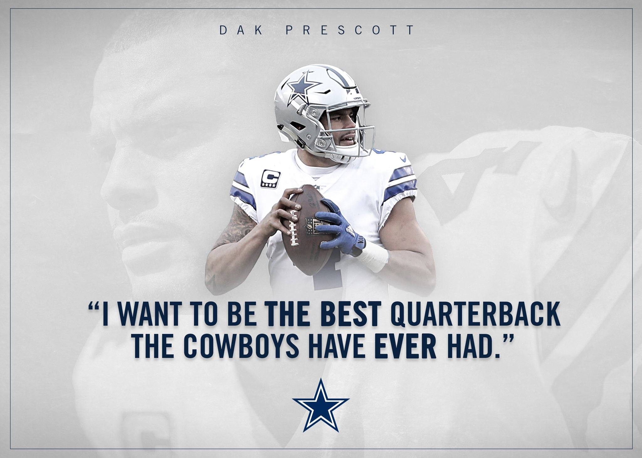 Dak Wants to Be Cowboys Greatest QB Ever and You Should Be Excited About It