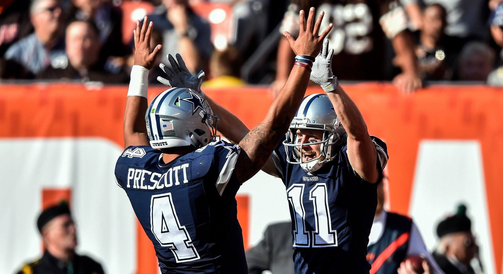 Cowboys QB Dak Prescott Embraces Lack of No. 1 Wide Receiver