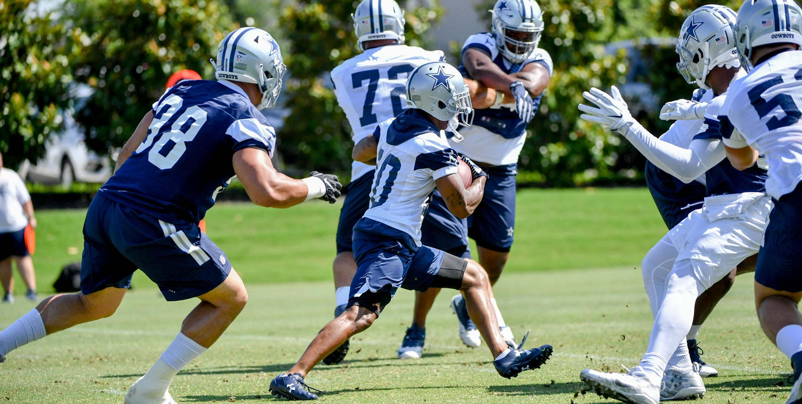 Dallas Cowboys Post-OTA's 53-Man Roster