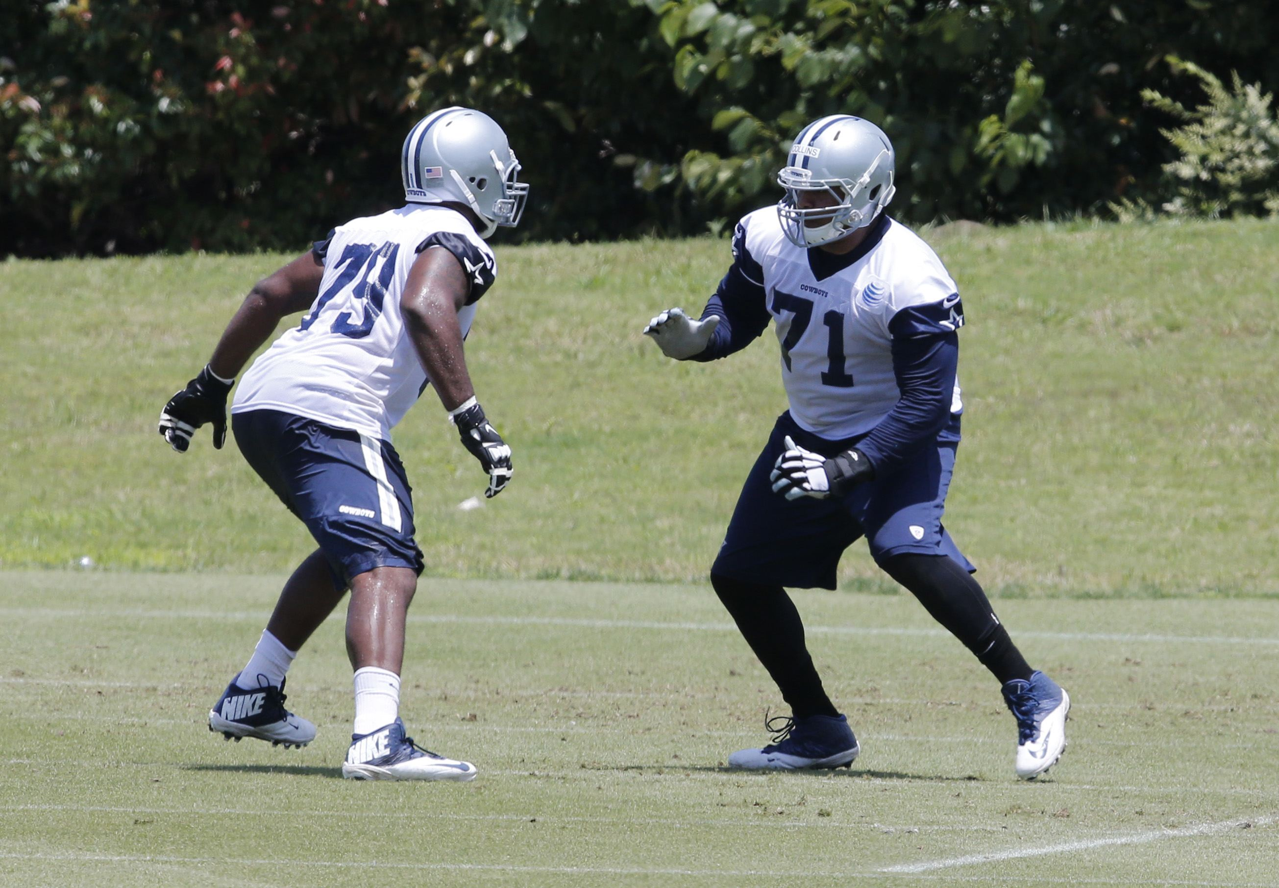 Chaz Green Leaves Practice Again, Cowboys OL Depth Becoming a Concern?