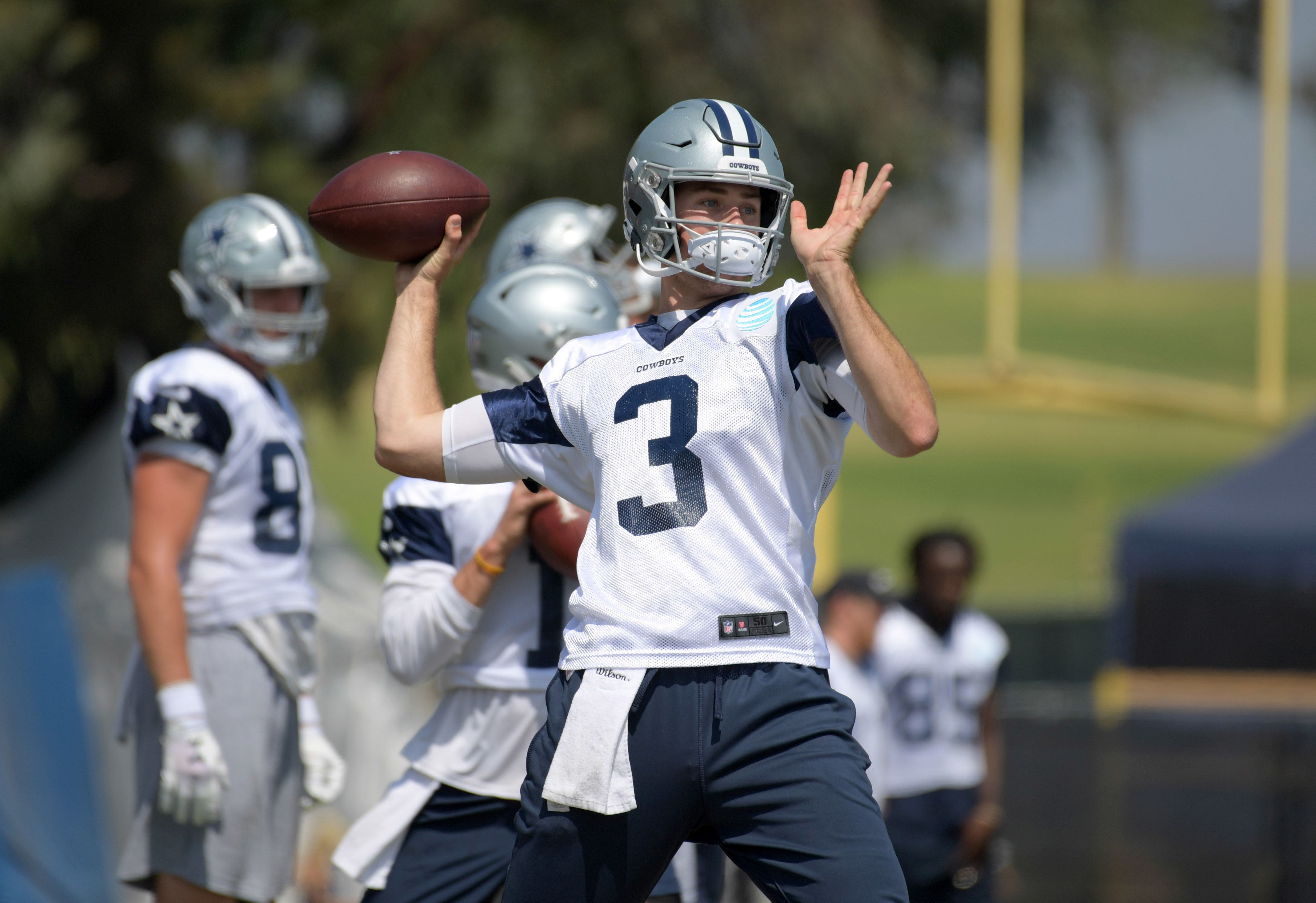 Cowboys Vs. Cardinals: Does Dallas Have Two QBs Worth Resting for Preseason? 1