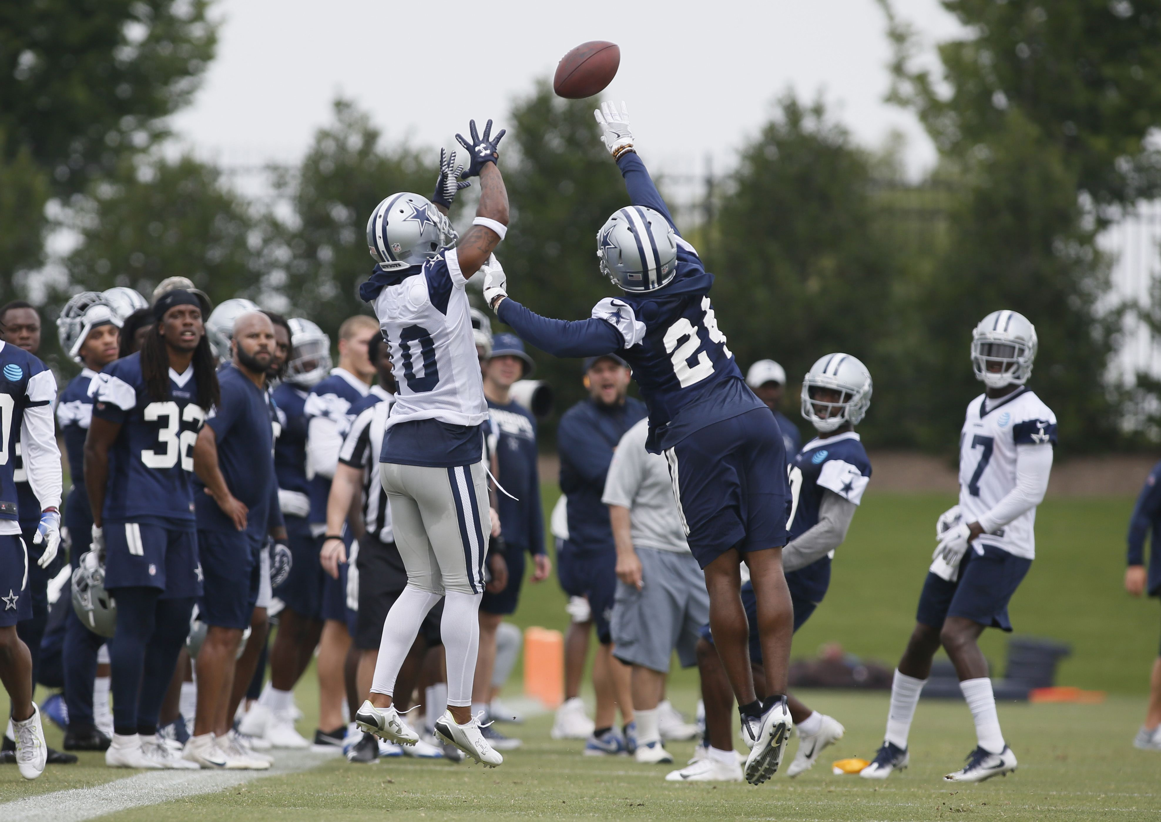 Understanding Cowboys Formations on Offense from Week 1 of Training Camp
