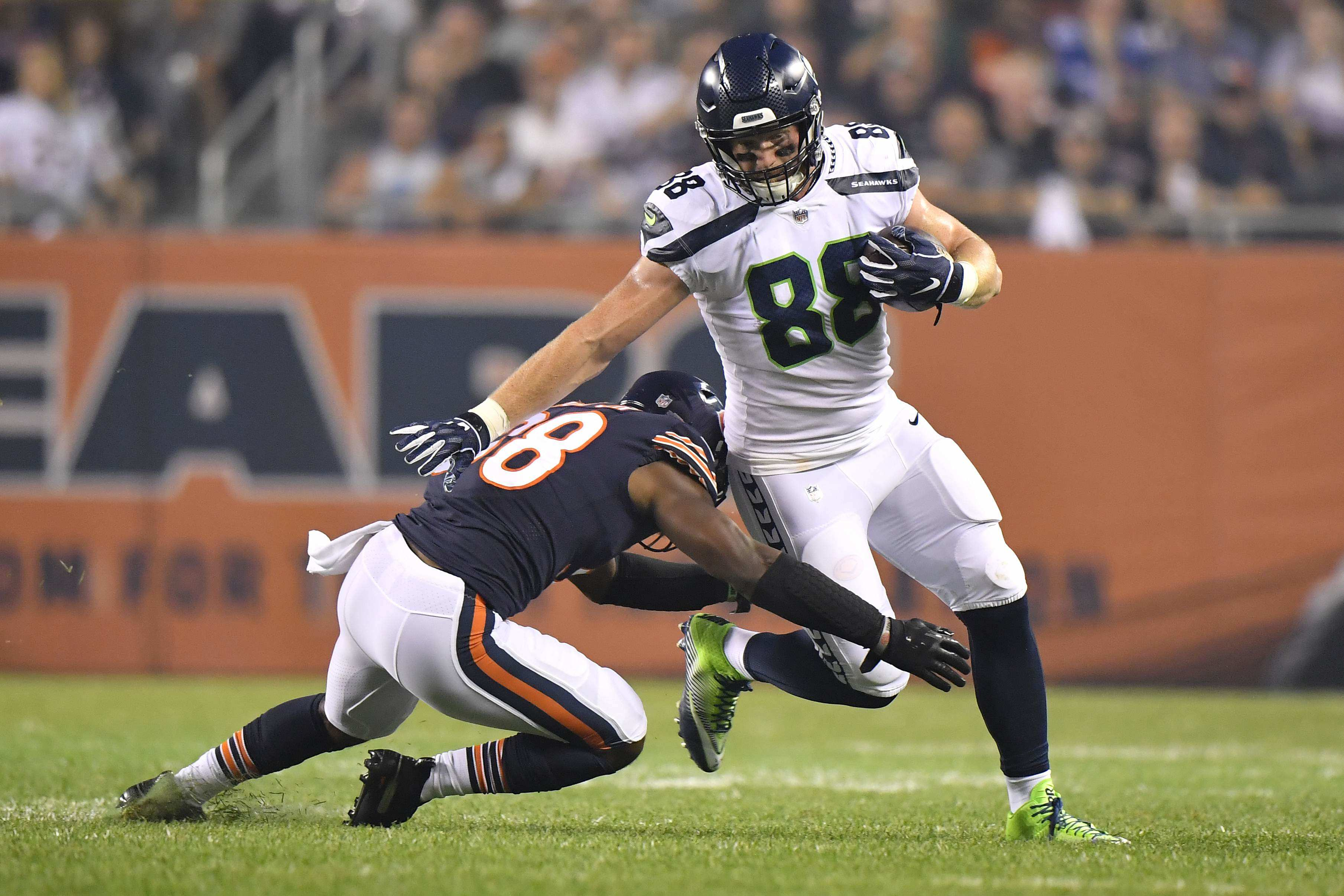 Seahawks' Tight End Will Dissly Flying Under the Radar