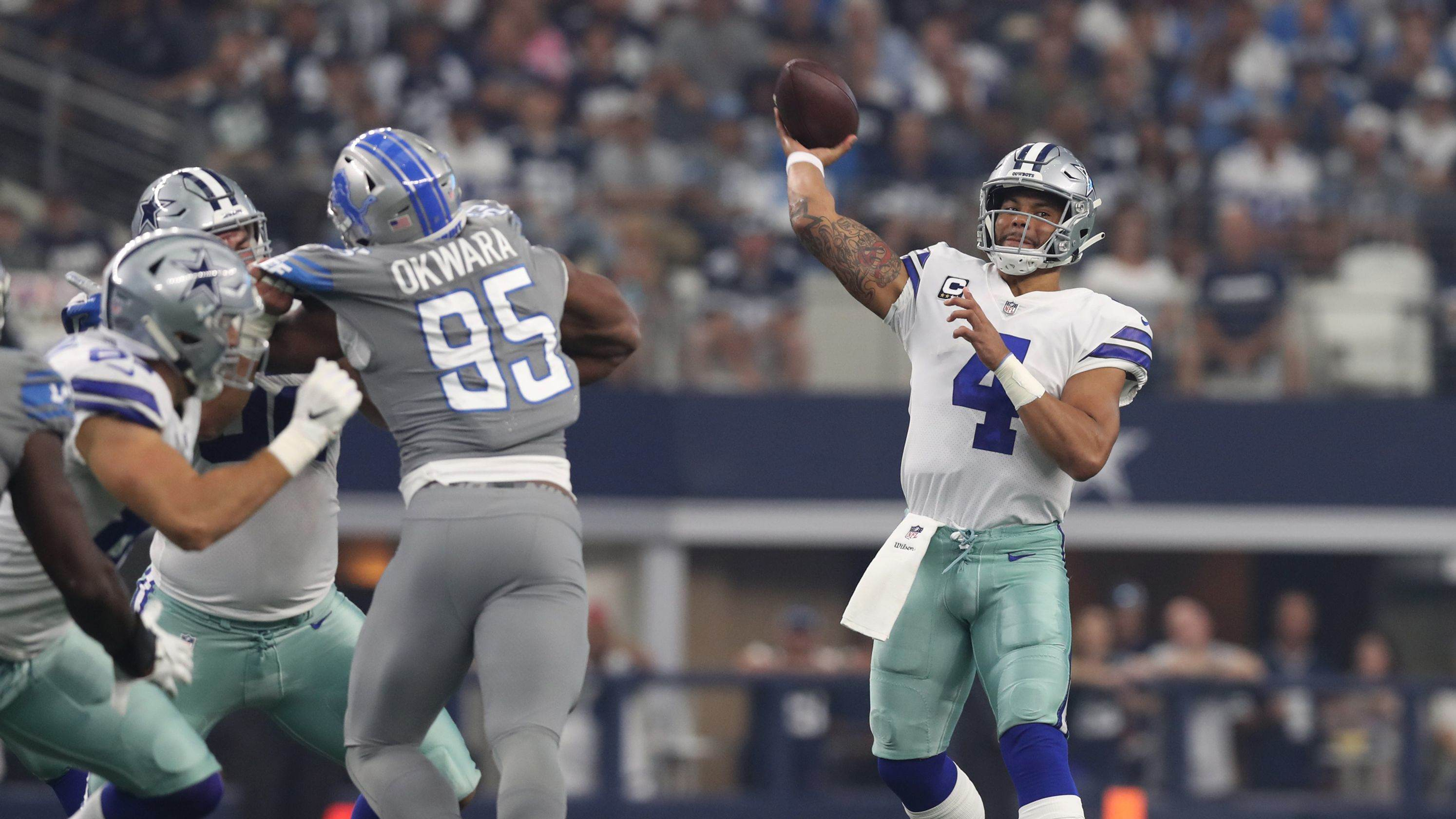 Missed TD Opportunities Nearly Cost Cowboys Victory Against Detroit 1