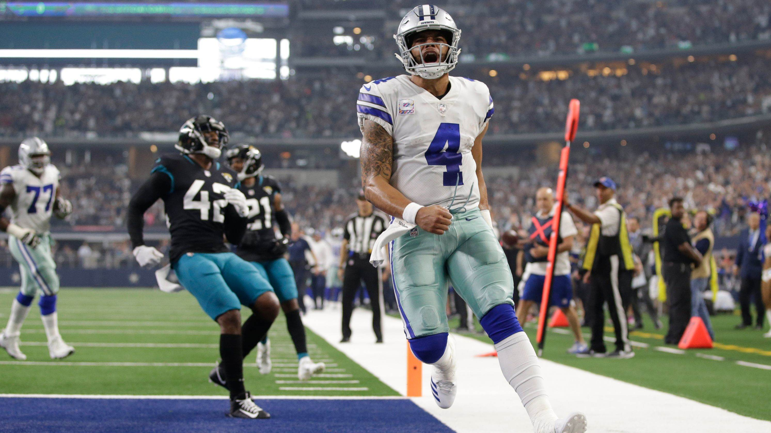 Monday Morning Hangover: Cowboys Dominate Jaguars Top-Ranked Defense 1