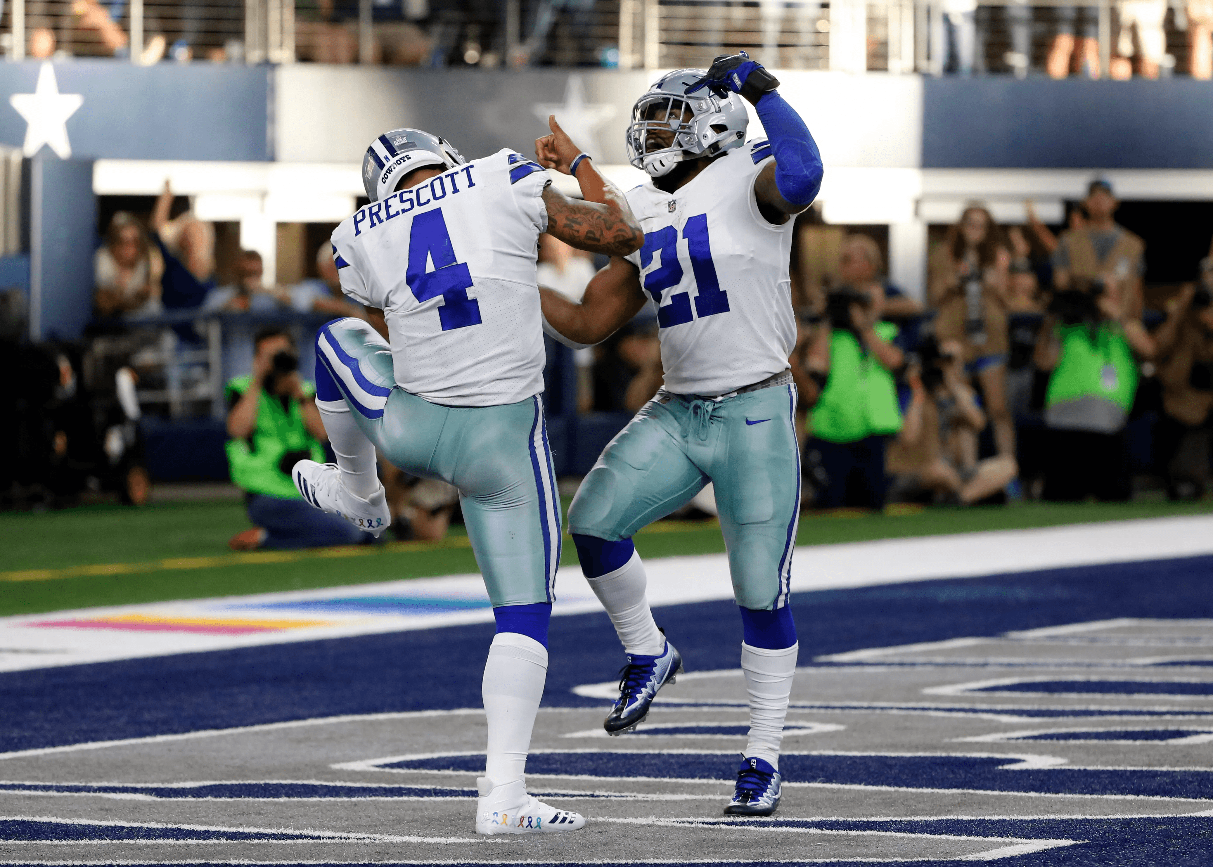 "Monday Morning Hangover: Cowboys ""Zeke Out"" the Win Over Detroit"