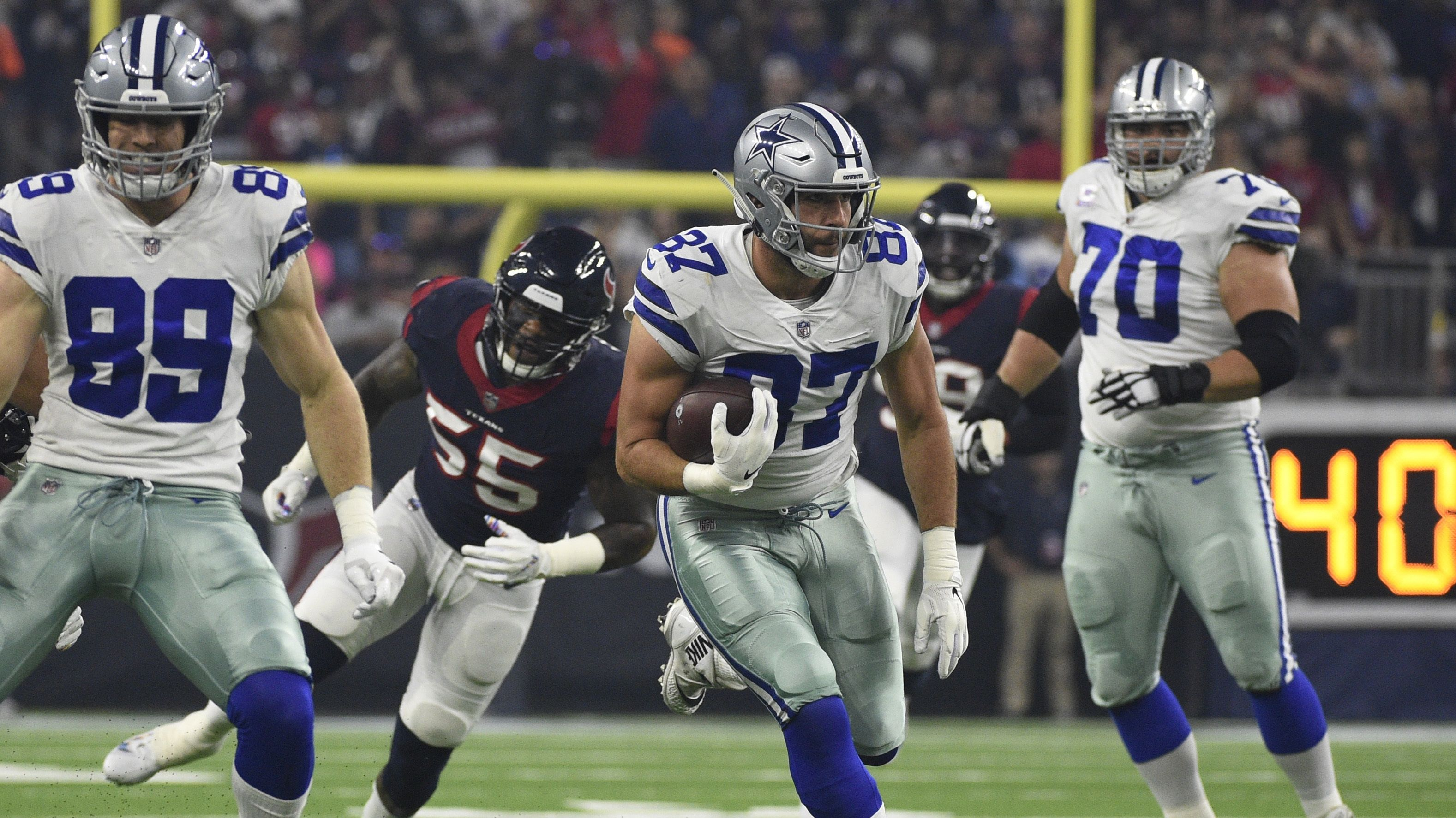 Cowboys TE Geoff Swaim Quietly Exceeding Expectations? 1