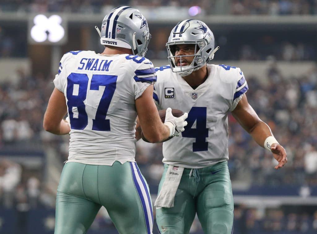 Cowboys TE Geoff Swaim Quietly Exceeding Expectations?