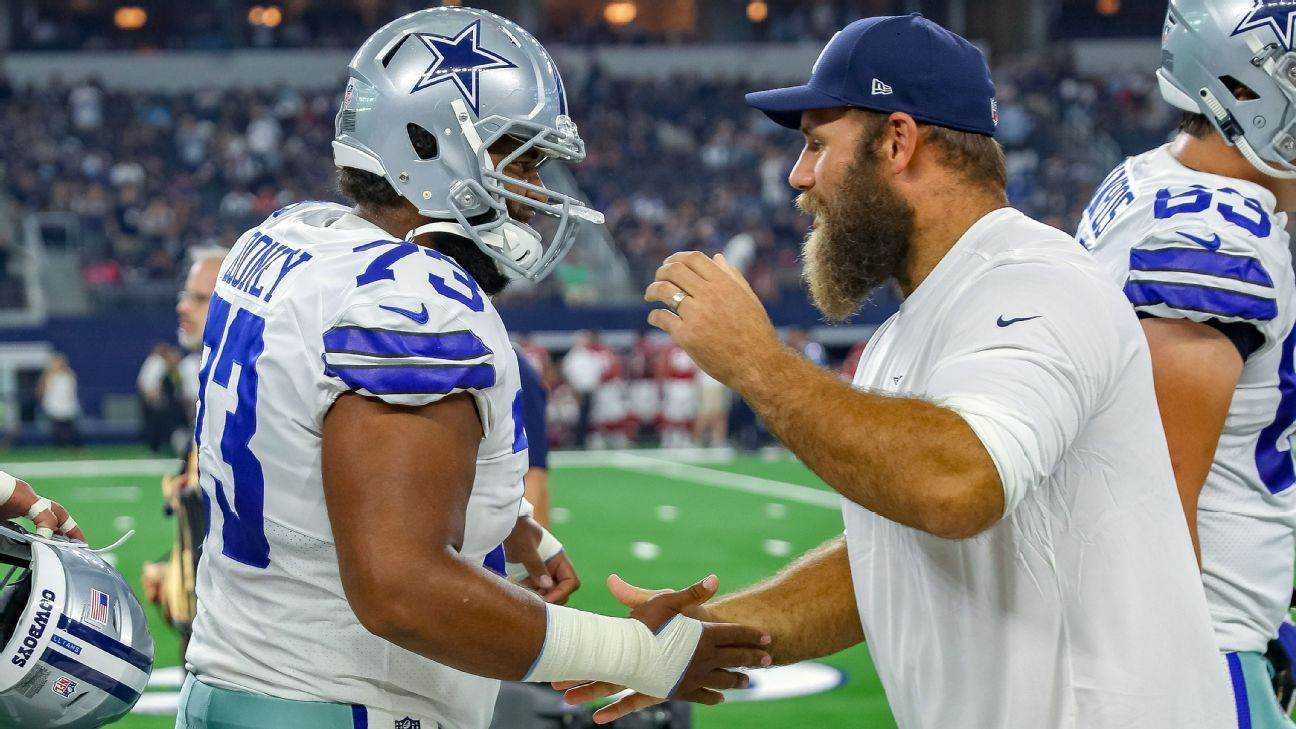 Cowboys Moving Frederick to IR A Vote of Confidence in Center Joe Looney