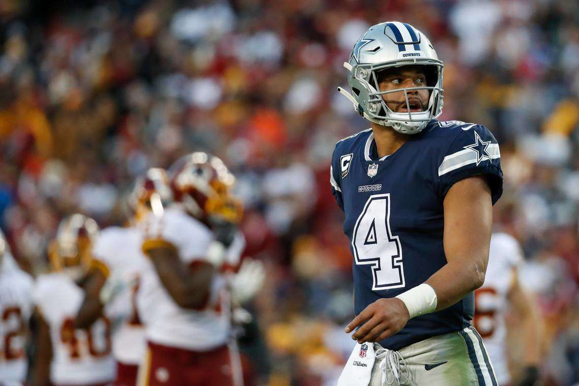 Sean's Scout: Dak's 1st Loss at Redskins Leaves Cowboys Losers Before Bye