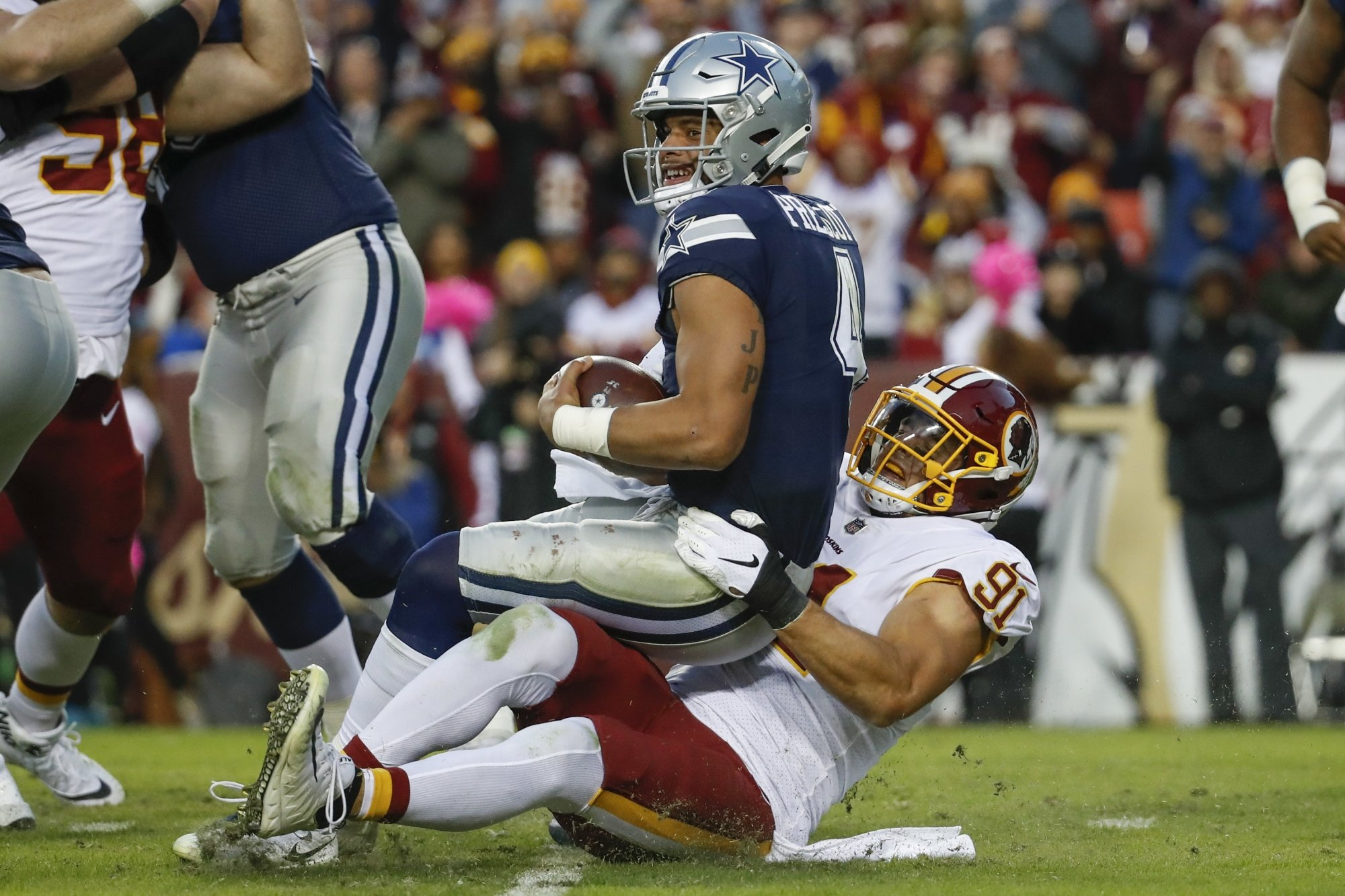 Bye Week and Amari Arrive After Cowboys' Rally Stripped Away by Redskins 1