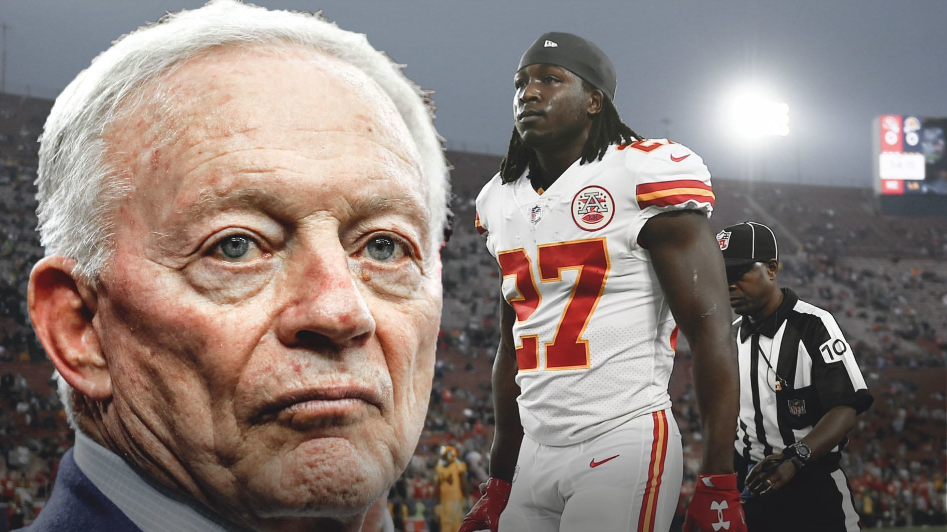 "Why is Jerry Jones ""keeping a very close eye"" on the Kareem Hunt Case?"