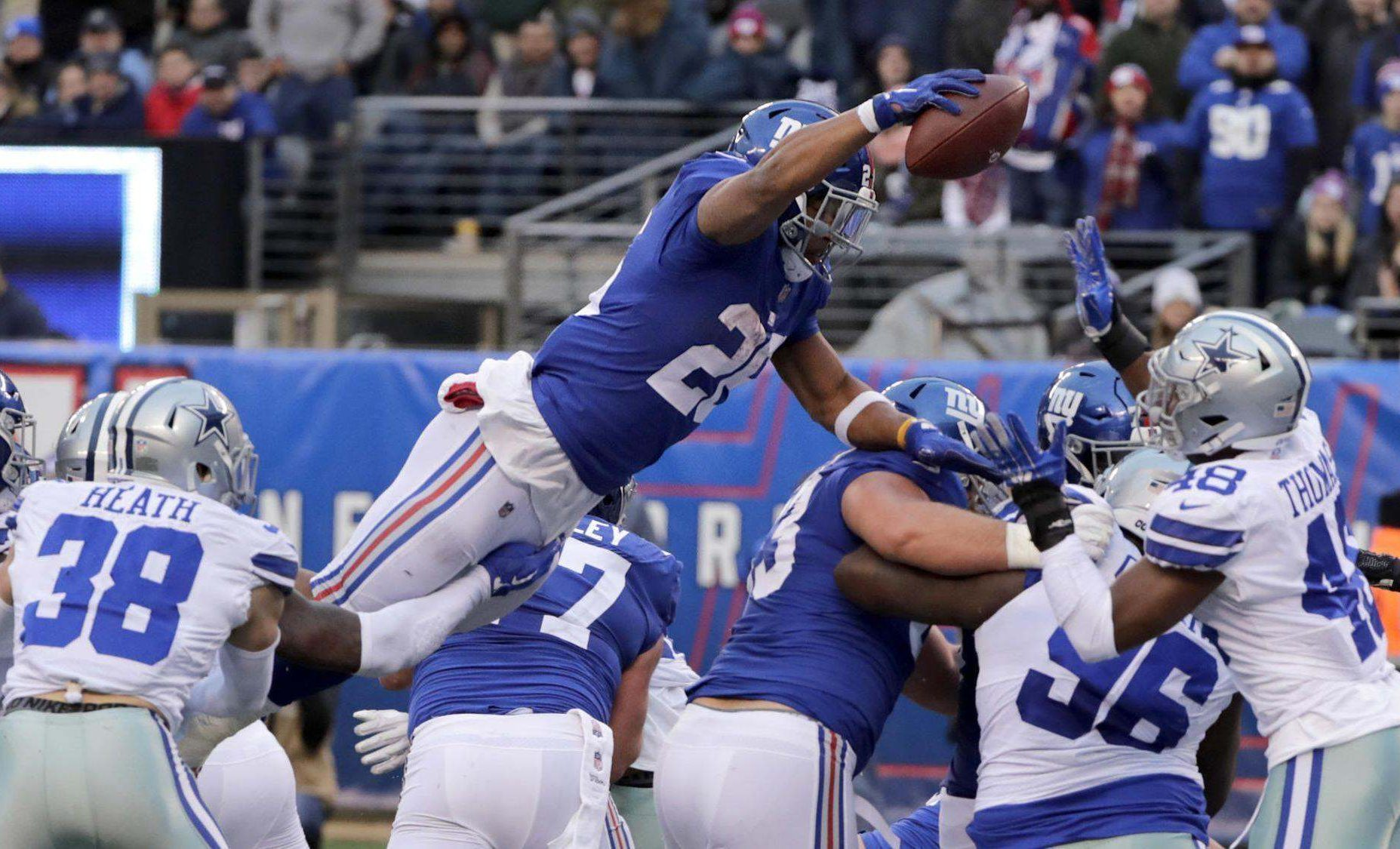 Next Day Rant: Barkley's Leaping TD Shows Hypocrisy of NFL Rules