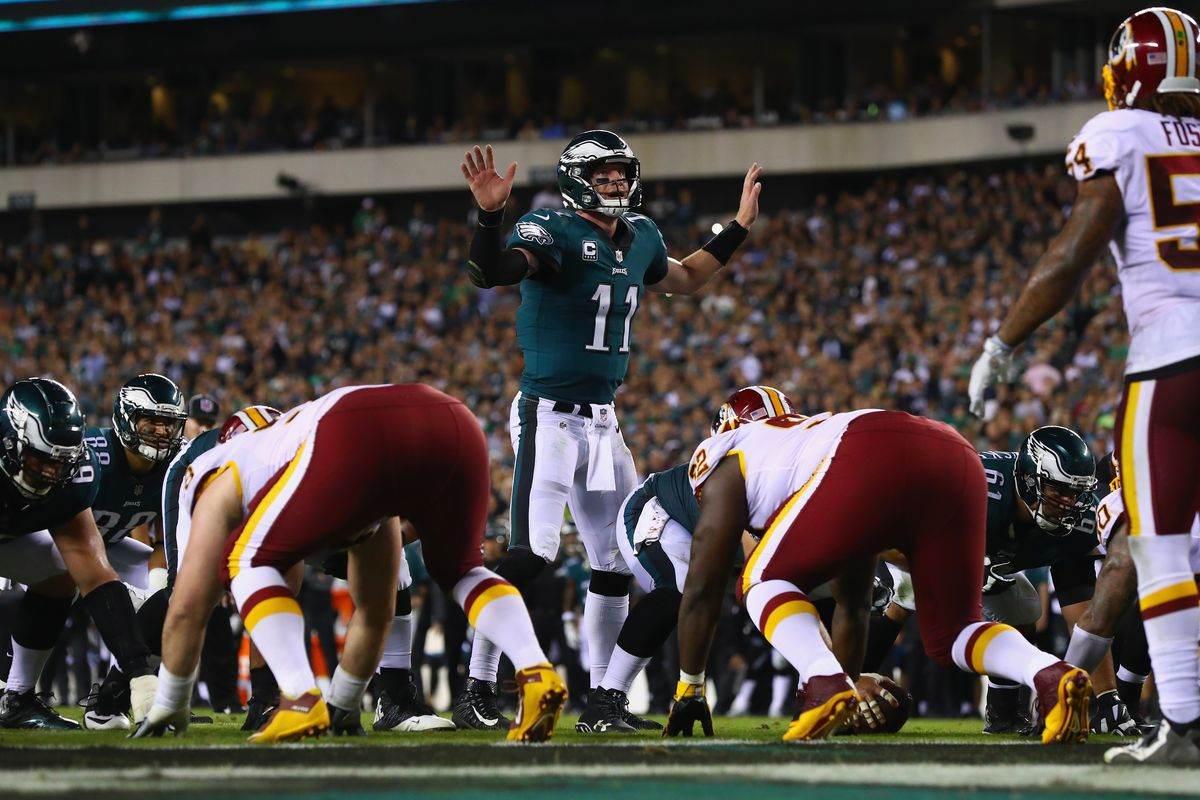 Eagles, Redskins