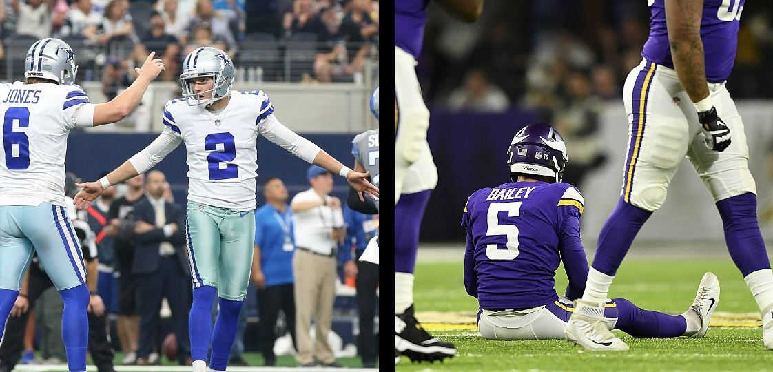 Brett Maher, Dan Bailey Both Validated Cowboys' Decision at Kicker
