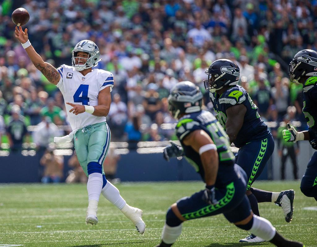 Seahawks vs. Cowboys in NFC Wild Card Game