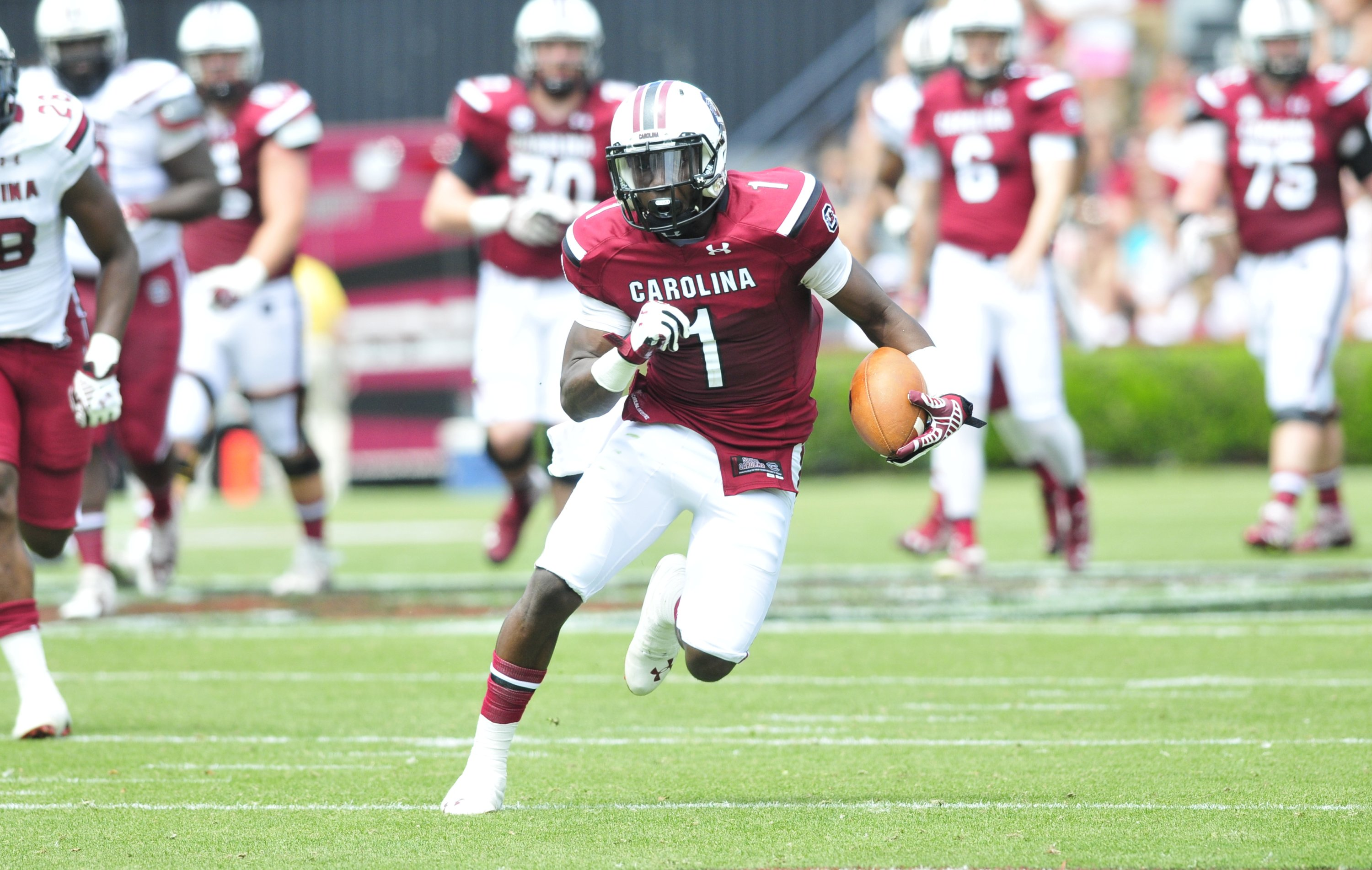 Cowboys Draft Target: South Carolina WR Deebo Samuel