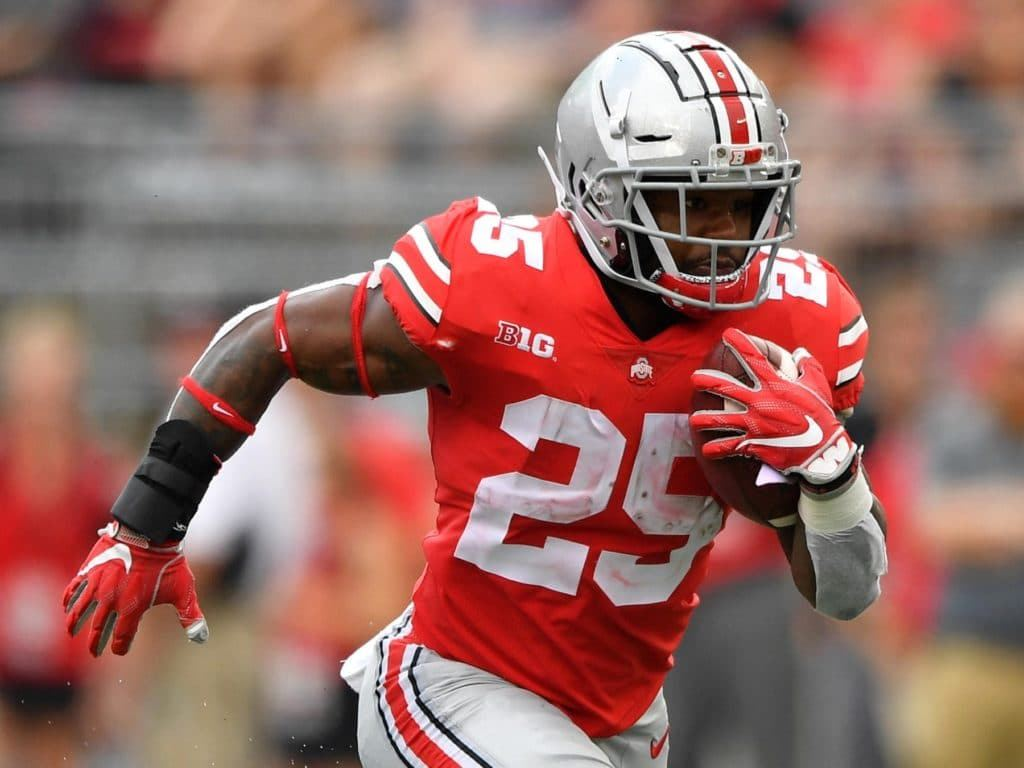 Cowboys Draft Target: Ohio State RB Mike Weber