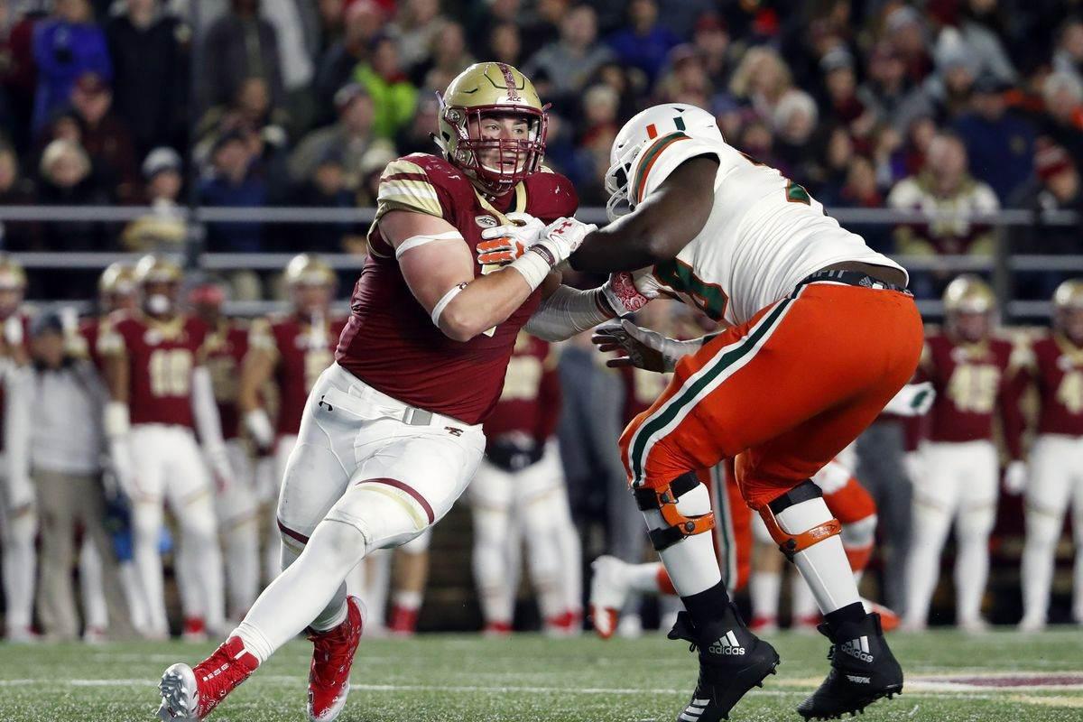 Cowboys Draft Target: Boston College DE/DT Zach Allen