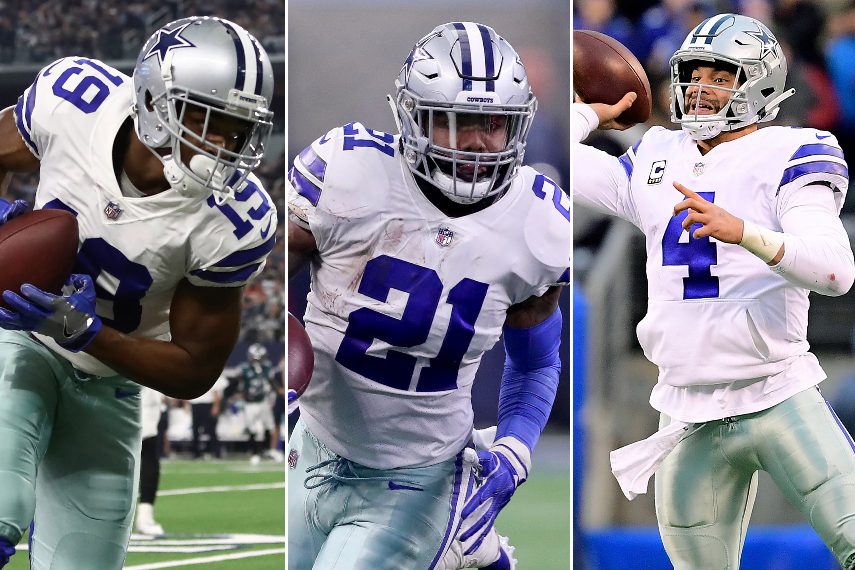 Sportrac Predicts Extensions for Dak Prescott, Ezekiel Elliott, and Amari Cooper