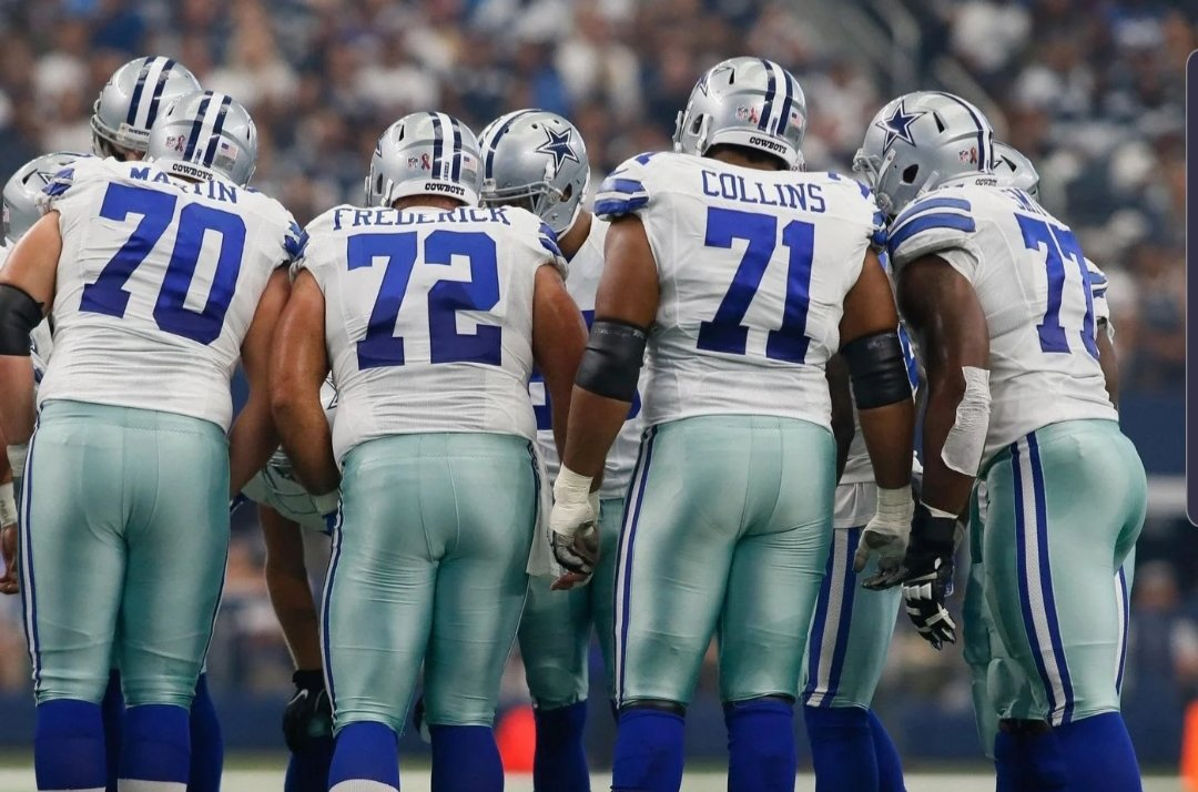 It Still Starts Up Front for the Dallas Cowboys
