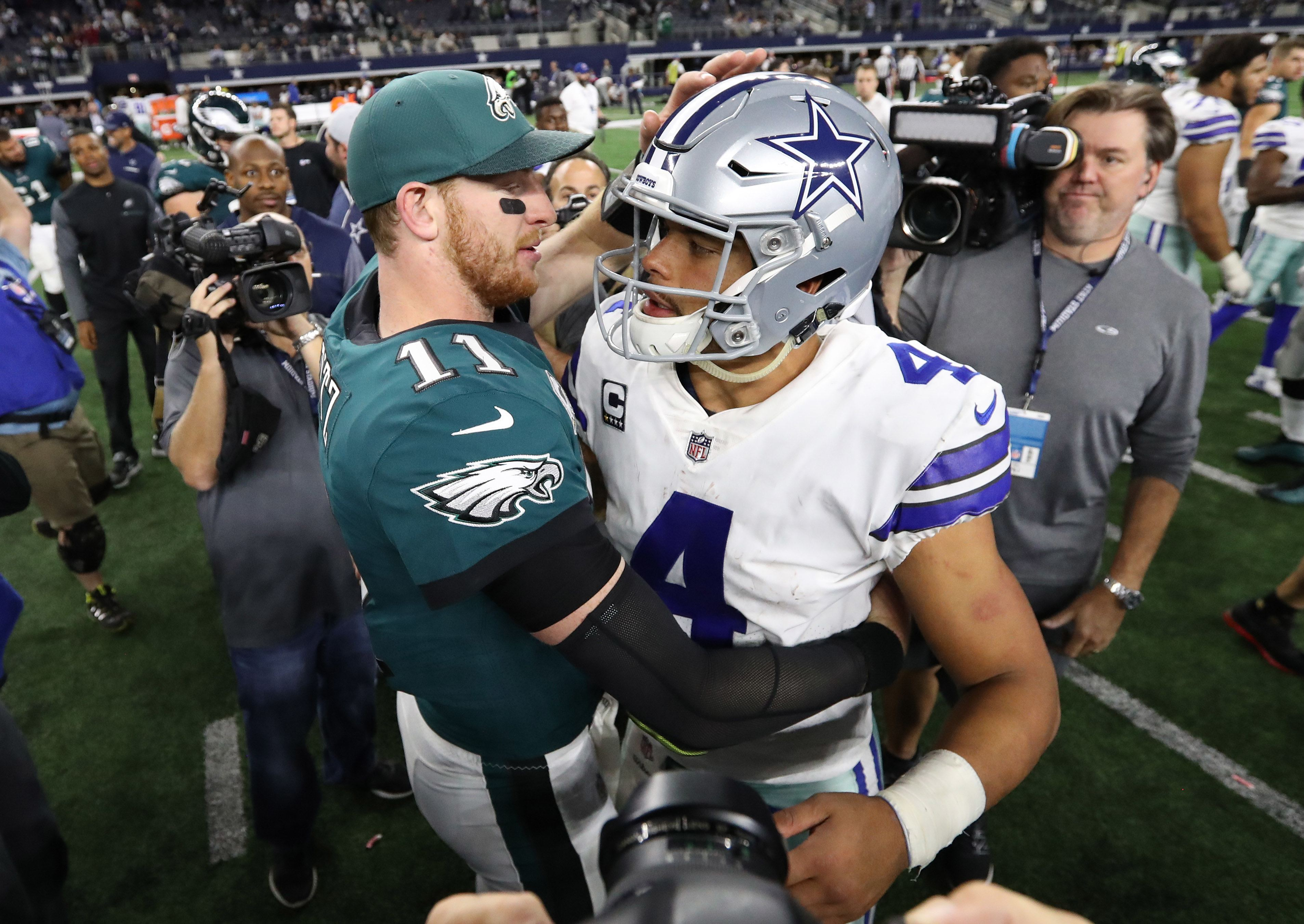 Prescott vs. Wentz, the Meaningless Debate Continues