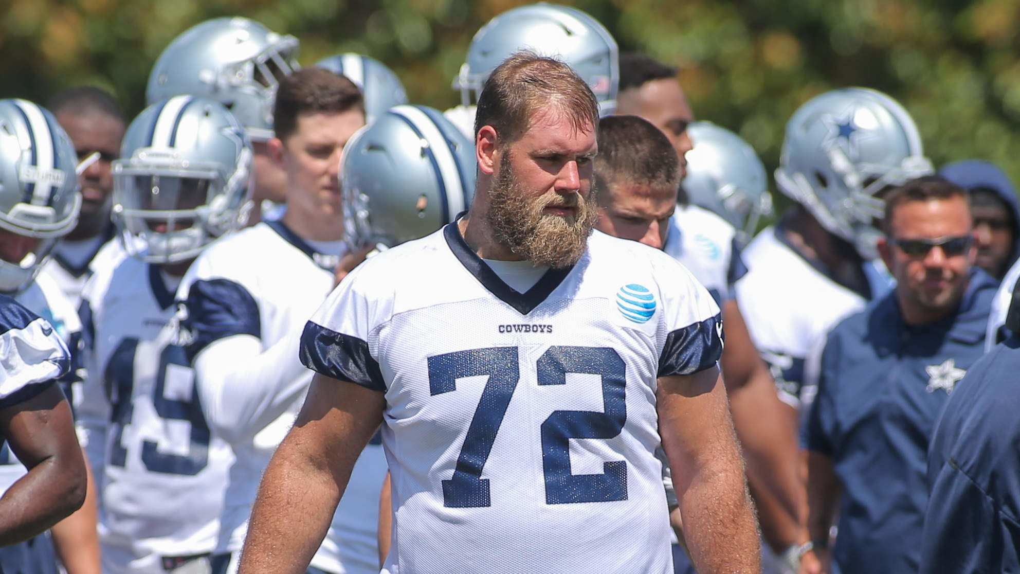 Concerns About Travis Frederick's Health Still Justifiable
