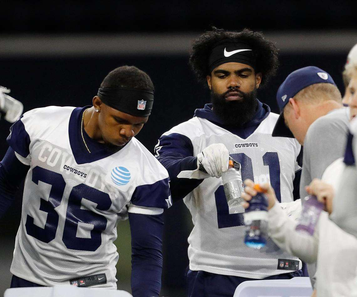 How Much can RB Tony Pollard eat Into Zeke's 2019 Workload?