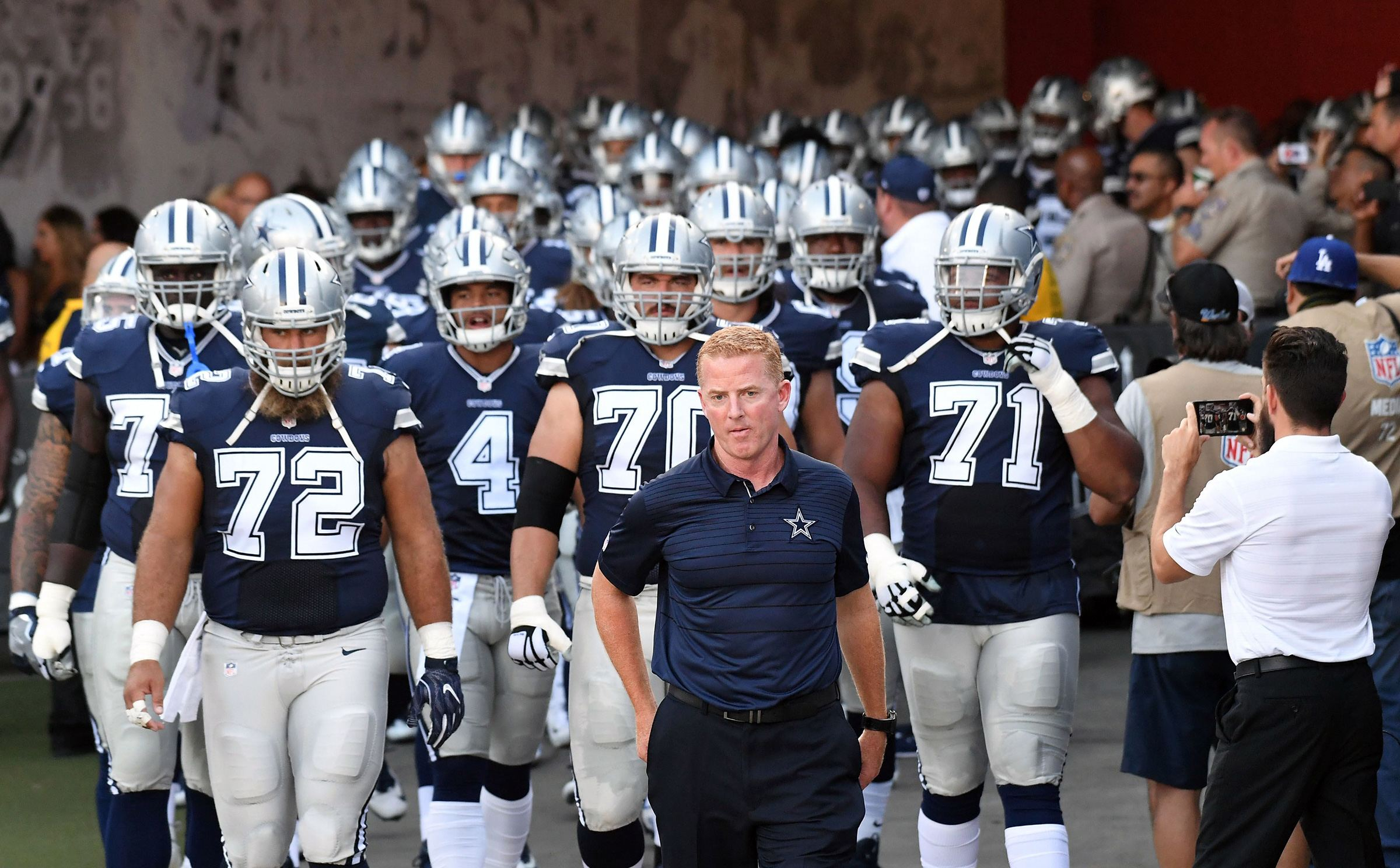 Dallas Cowboys Position Totals 6