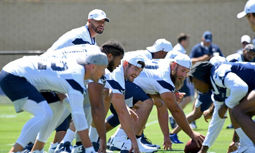 Dallas Cowboys Offensive Line Depth Getting Tested Early