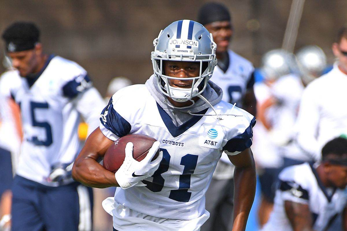 online store 1e8c4 dadb8 SFvsDAL: WR Jon'Vea Johnson Has A Chance To Separate Himself ✭