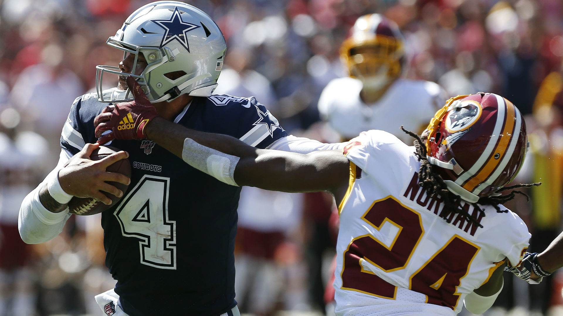 Dak Prescott not Only one Roasting CB Josh Norman on Sunday