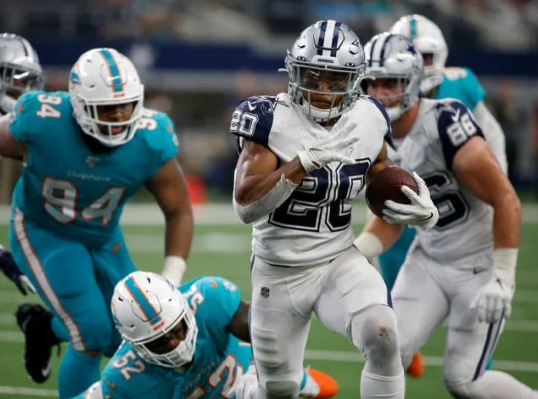 Ezekiel Elliott, Tony Pollard Show 1-2 Punch Potential as Each Reach 100 Yards 1