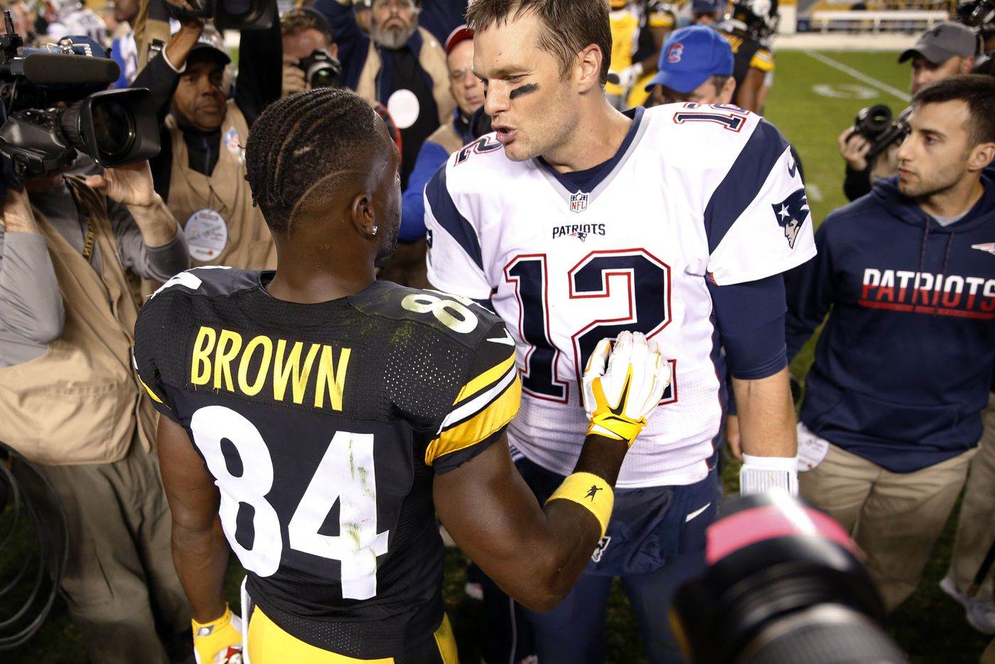 New England Patriots: Tom Brady focused on Antonio Brown the player