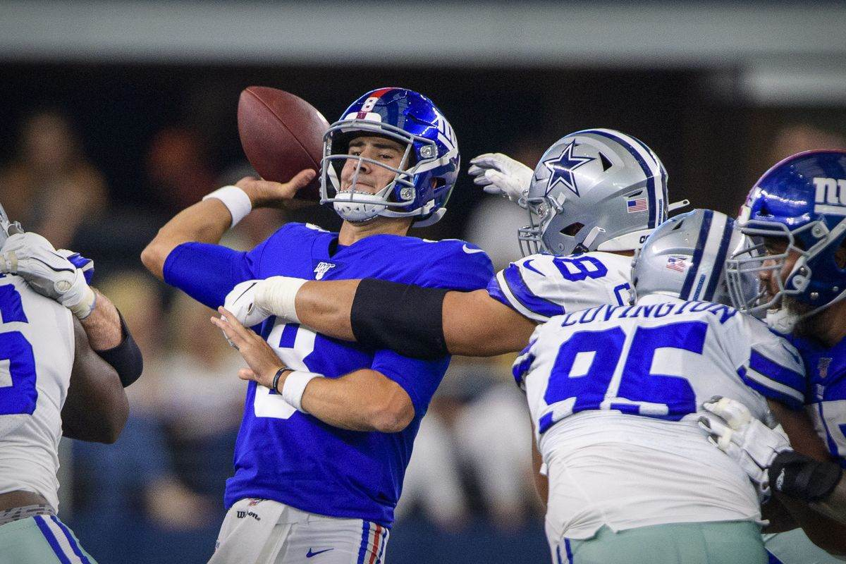 Cowboys vs Giants Begins New Chapter with Daniel Jones at QB 4